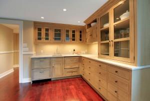 Natural Kitchen In Luxury Basement