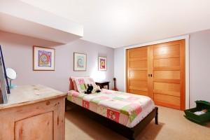 Kids Girl Bedroom In Pinnk.